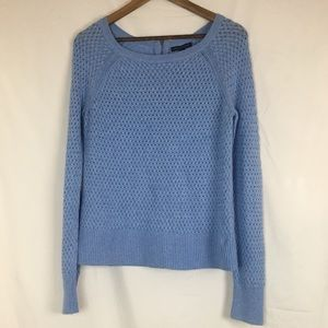 Medium Blue knitted American Eagle Sweater